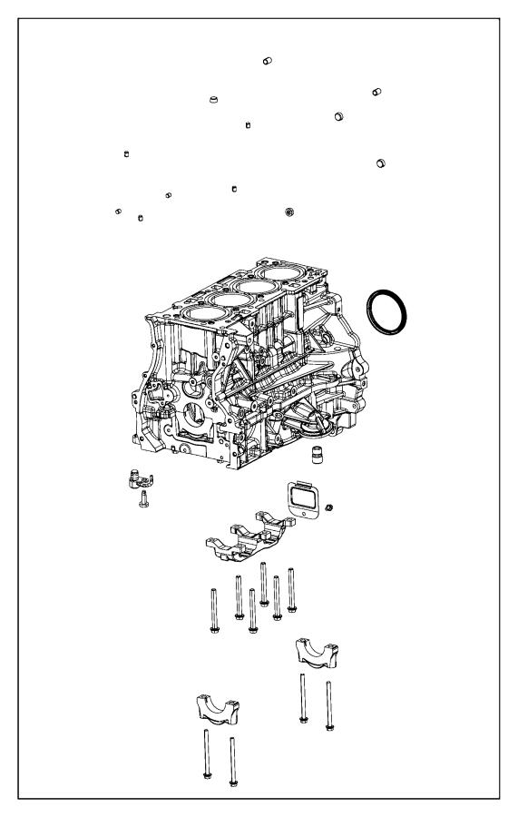 Lexus LS400 Engine Short Block - 1140050090 | Lexus Parts ...